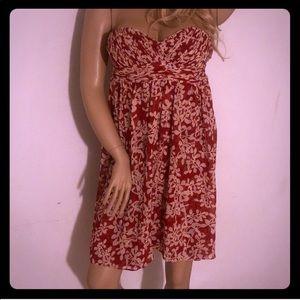 Cute Strapless Mini Dress